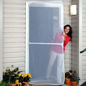 SCREEN DOOR Screen all existing doors! Simple Do-It-Yourself Installation! Left or Right Mount! It fits on all door sills!  sc 1 st  Insect screen for window screen or insect habitat & Screen Doors with Different Materials and Sizes for Using